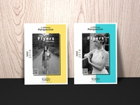Free Flyers Mockup Perspective 1