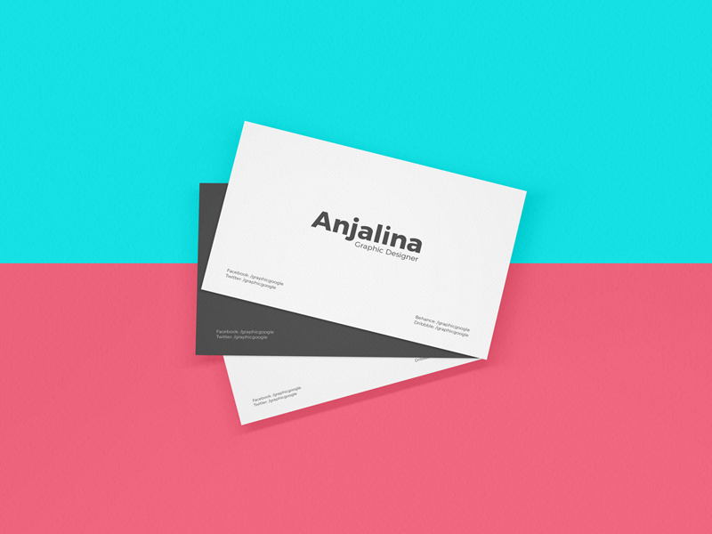 Free Business Card Mockup Psd 2018 By Graphic Google Dribbble