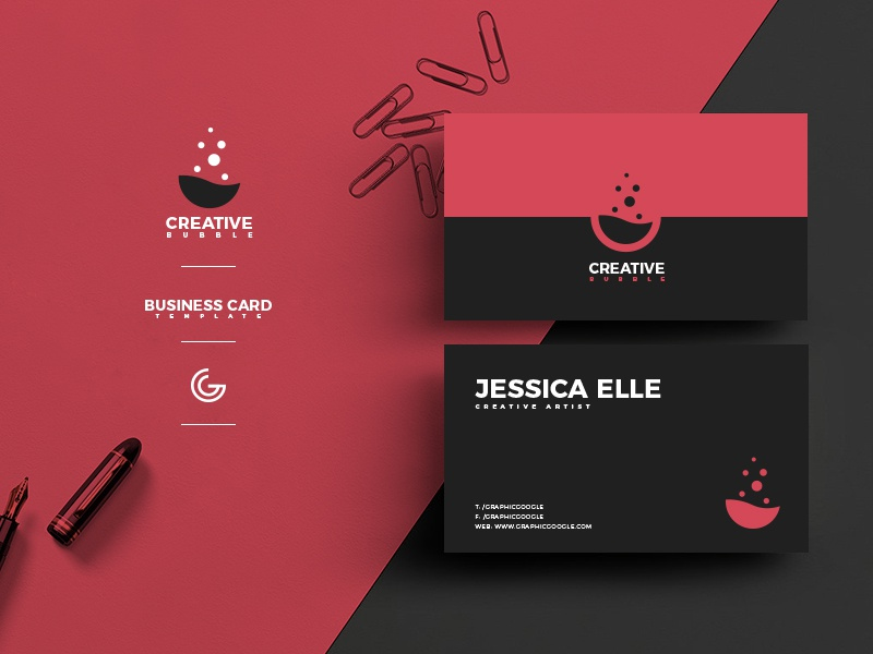 Free Creative Business Card Design Template For Designers Freebie