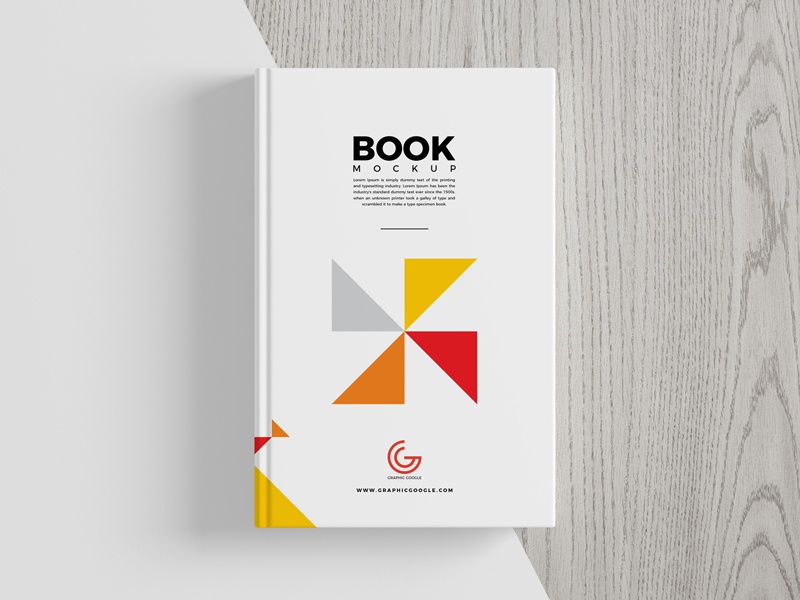 free book cover mockup by graphic google dribbble dribbble