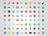 100 Free World Social Media Icons