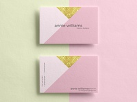 Free Texture Business Cards Mockup PSD