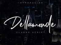 Dellamonde Classy Script Free Demo
