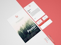 Free Corporate Stationery Mockup PSD