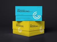 Free Square Boxes Mockup PSD
