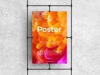 Free Brand Poster Mockup