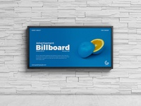 Free Wall Billboard Mockup