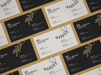 Free Branding Business Card Mockup PSD