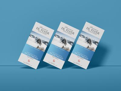 Free Brand Dl Flyer Mockup Design