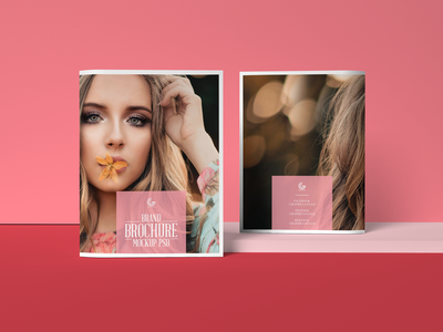 Free Brand Brochure Mockup PSD
