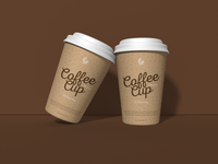 Free PSD Coffee Cup Mockup For Branding 1