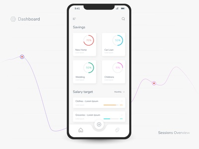 Dashboard - Mobile App