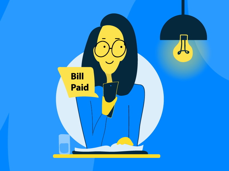 Mobile Payment online payment digital payment payment money happy girl mobile payment illustration character design