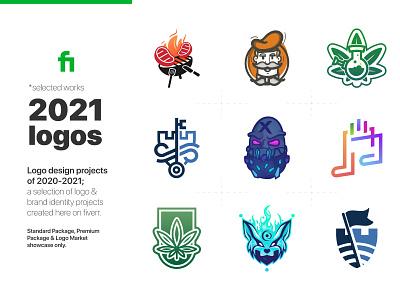 Fiverr Collab 2020 cartoon shield key music leaf mascot character logosketch clean logo design icon branding minimal illustration art vector flat linework logo logos