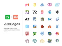 Logo Design Project of 2018 - Selected Works