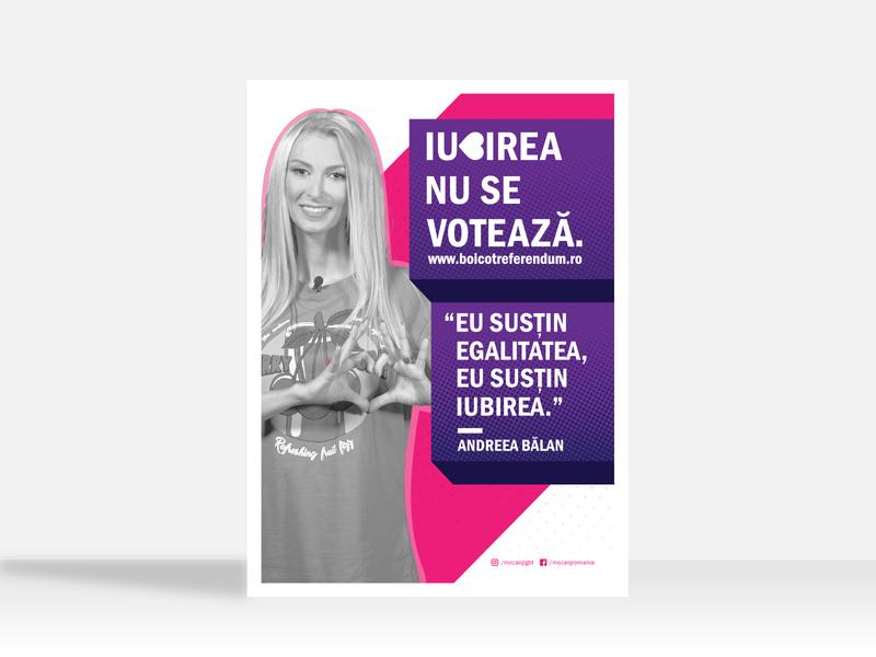 LGBT Referendum - Romania linework vector graphic design icon flat clean minimal illustration art design branding poster challenge poster layout flyer layout flyer design flyer poster poster design poster art