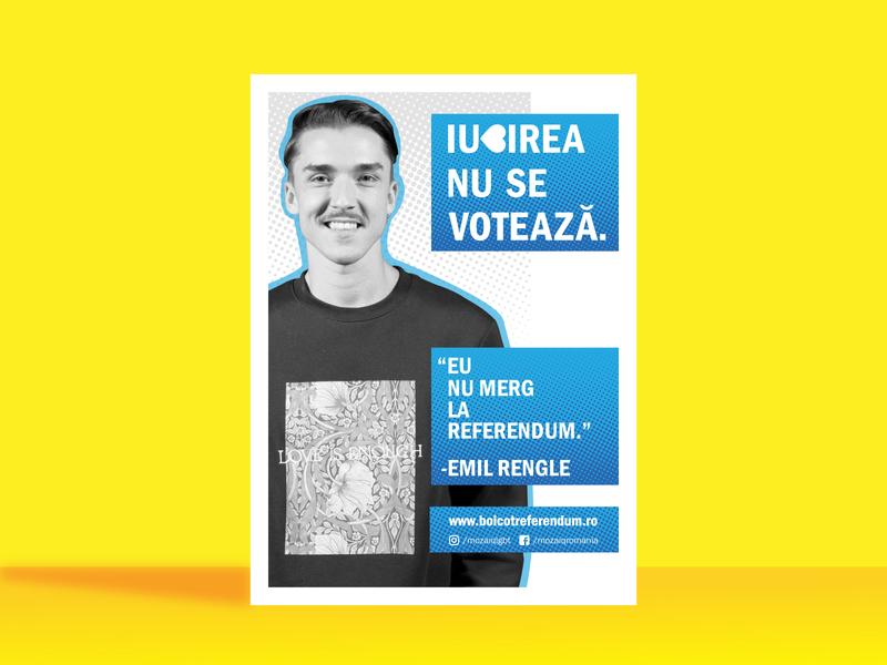 LGBT Referendum - Romania graphic design art vector illustration flat branding flyer mockup poster collection poster challenge lgbt poster artwork flyer artwork flyer design poster layout poster art poster design flyer poster