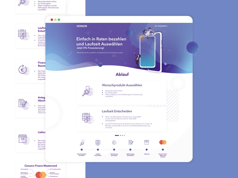 Huawei HiHonor BNP Financial Campaign ux user interface ui design user interface userinterface interface uiux design uiux ui ui design uidesign phoneui landing page ui landing page design landing page huawei honor hihonor desktop ui desktop design