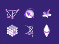 Soft 3d icons