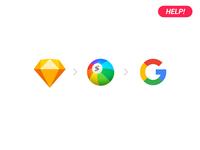 Help! Google Pixel 2 in sketch