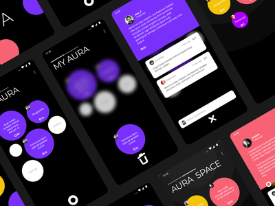 getaura.io sketch ui  ux design app ui