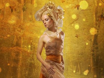 Queen of Autumn photoshop manipulation
