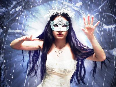 Queen of Winter photoshop manipulation