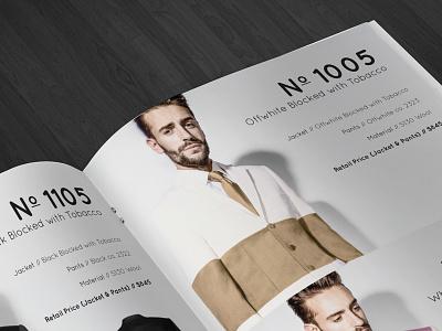 DARKOH Lookbook Spring+Summer 2014 fashion collection design lookbook indesign
