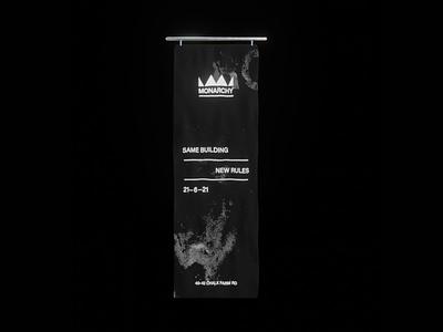 Blender Cloth and Wind Simulation branding typography artwork motion animation design dark flag cloth 3d blender