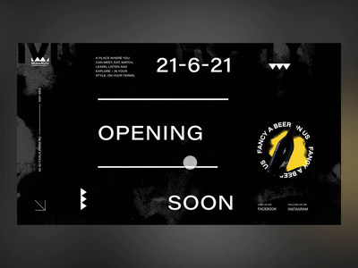 Monarchy - Coming Soon Splash Screen - Landing Page website branding typography ui design animated london pub alchohol bar threejs blender 3d dark ui landing page coming soon page