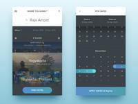 Hotel Finder – Date Picker (iOS Apps)