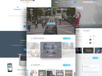 Vimeo Homepage Exploration