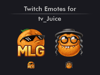 Twitch Emotes for tv_Juice