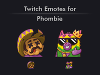 Twitch Emotes for Phombie