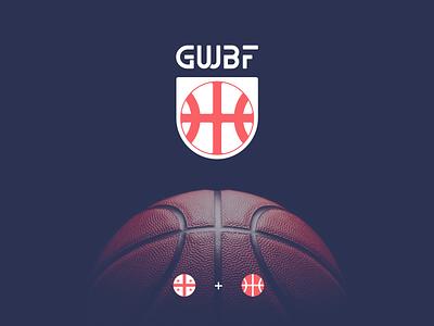 gwbf typography vector branding design icon geometric illustration logo