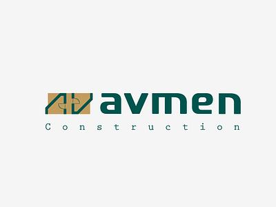 avmean typography branding icon design geometric illustration logo