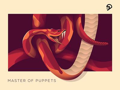 snake illustration snake vector animal design geometric illustration