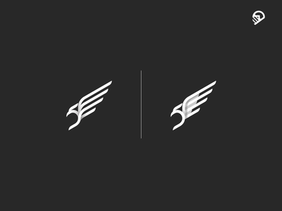 Eagle illustration icon logo eagle