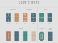 Courts Icons