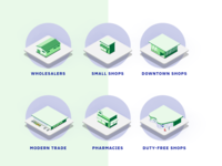 Isometric Icons