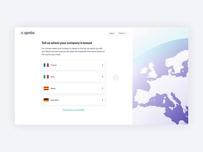 New Register Flow ✈️ illustration design stepper product design animation bank cards flow interaction design app