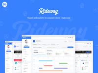 Rideway - Behance Presentation