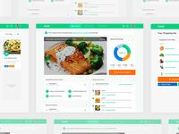 Recipes & Mealplan Dashboards