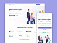 ScoutCredit - Homepage Exploration