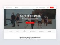 FourPercent - Homepage Design