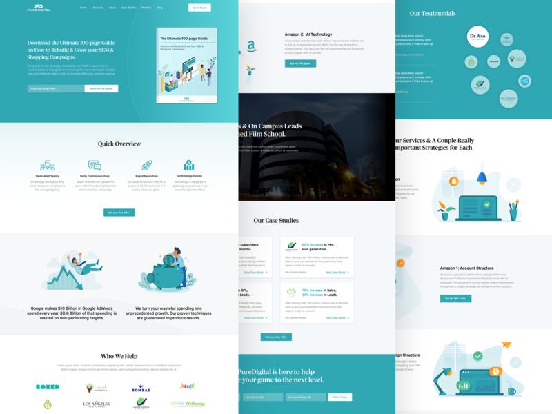 PureDigital - Digital Agency Website