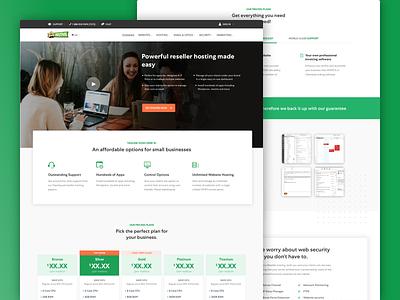HostPapa - Hosting Reseller Page
