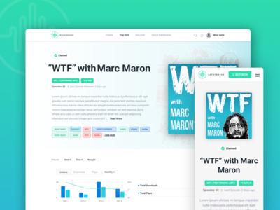 Backtracks - Podcast Analytics