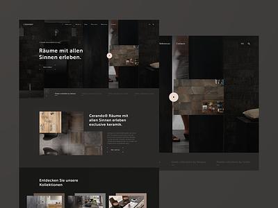 Cerando berlin design wordpress development tiles luxury ui germany