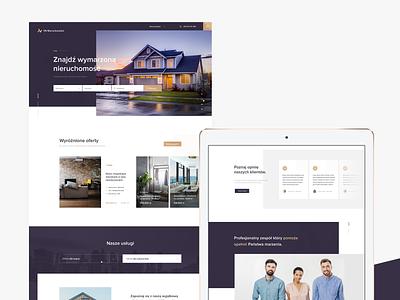VN Real Estate startup ux poznan home realestate ui berlin poland webdesign germany design wordpress
